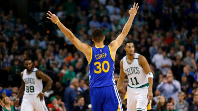 NBA: Golden State Warriors at Boston Celtics